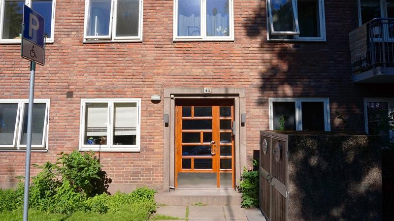 Fagerborggata 48 inngang
